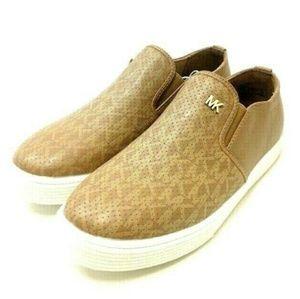 Michael Kors Girls' Signature Slip On Loafers
